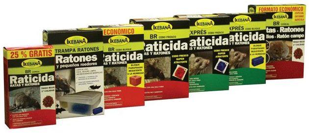 Raticidas y ratonicidas: Productos  de Casa Vila