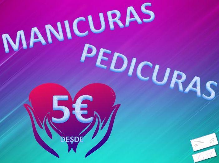 MANICURAS Y PEDICURAS UNISEX DESDE 5€