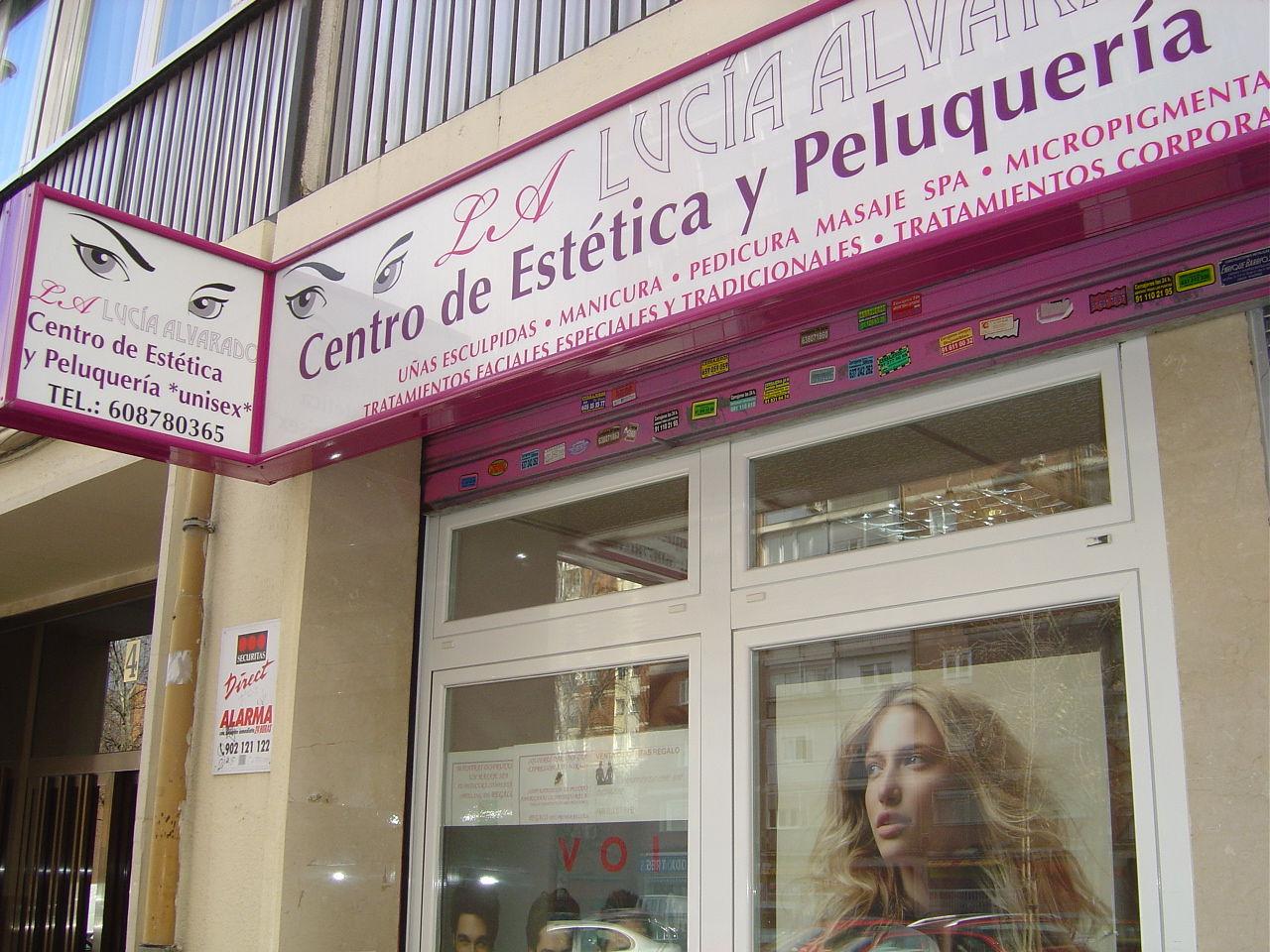 Foto 1 de Centros de estética en Madrid | Centro de Estética y Peluquería LA Lucía Alvarado