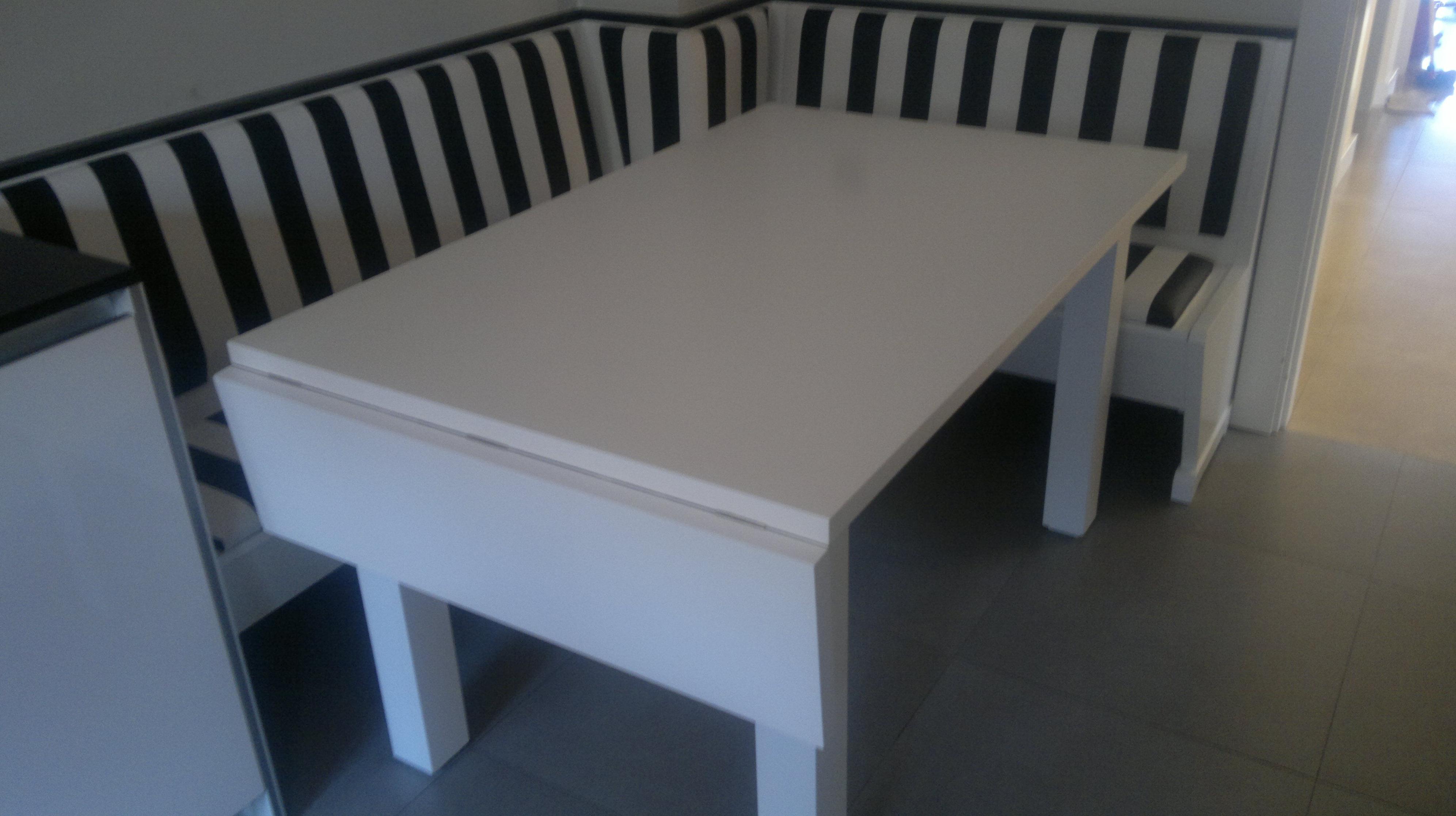 Mesa y banco para cocina cat logo de ebarest for Banco rinconera cocina blanco