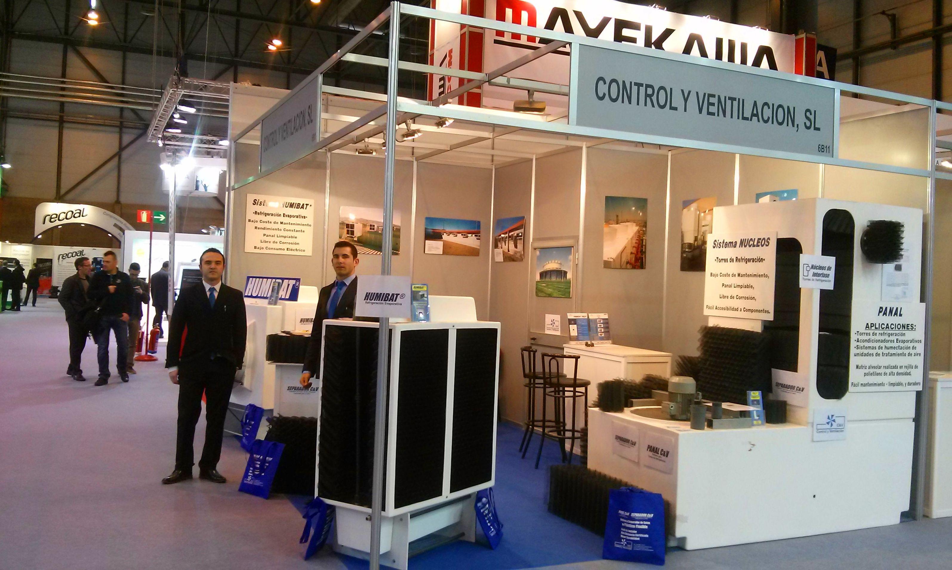 Exposición de productos de Control y Ventilación, S.L.