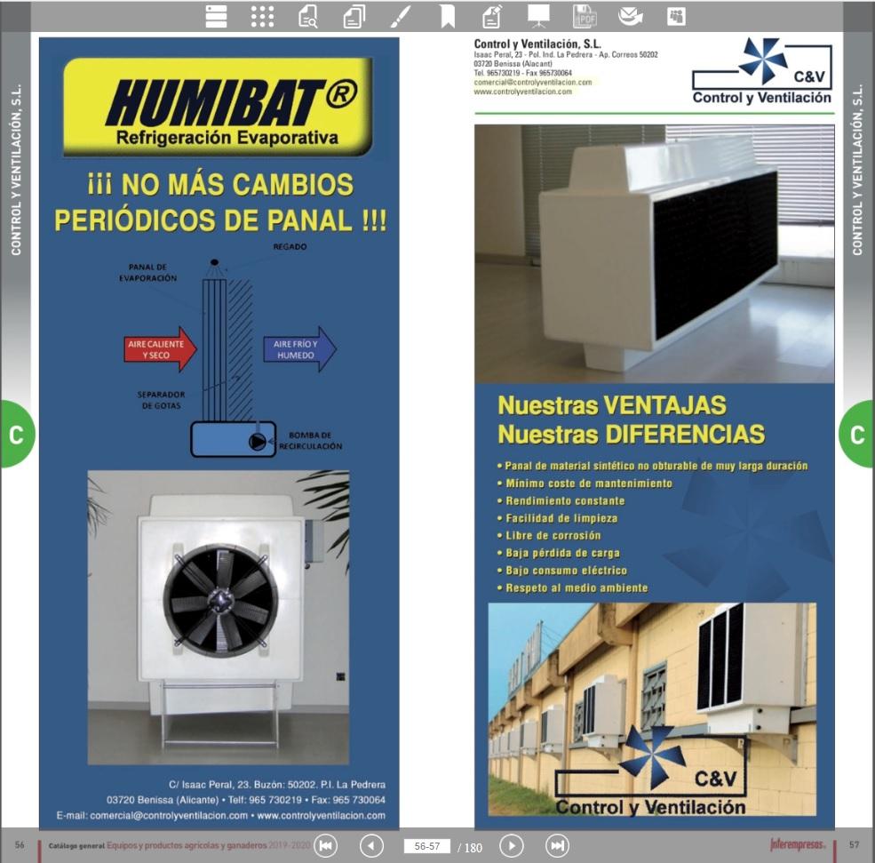 Catalogo HUMIBAT (Refrigeración Evaporativa)