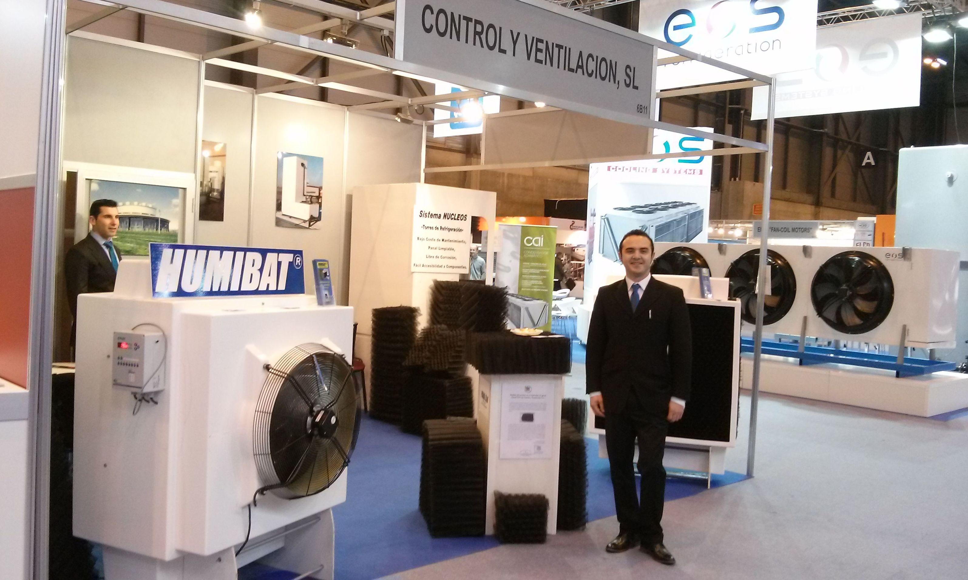 Control y Ventilación con su HUMIBAT en la IFEMA - Feria Internacional Climatización y Refrigeración 2015