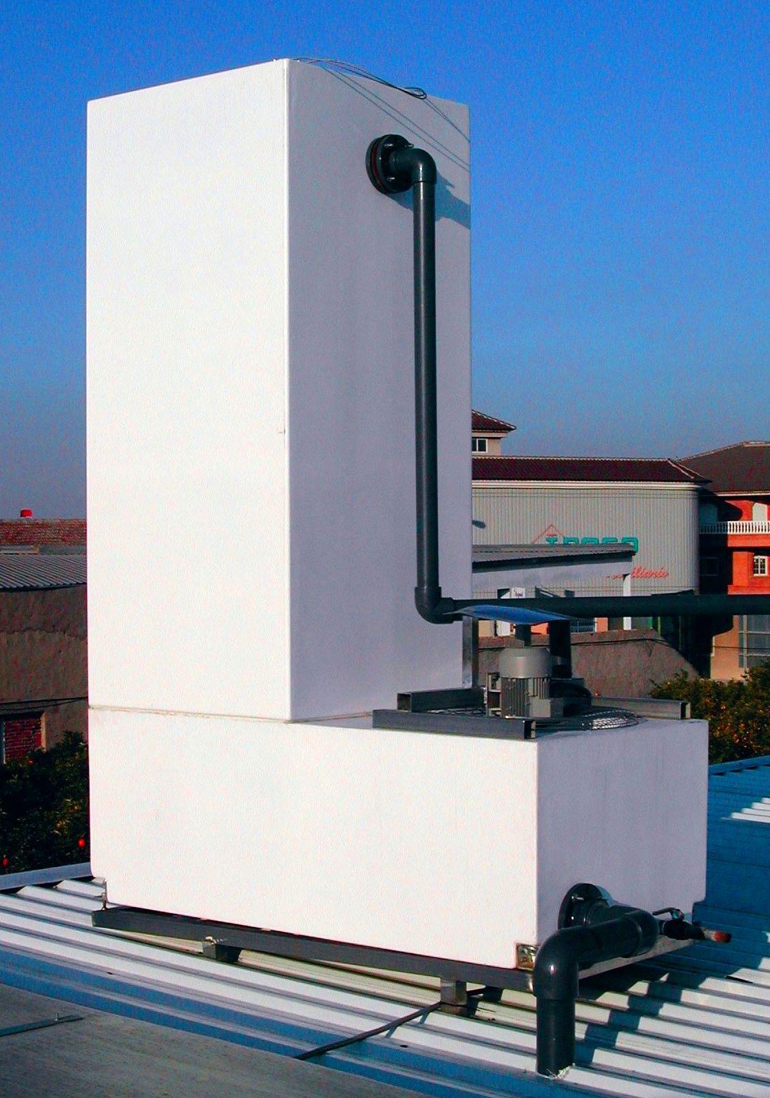 Torre de Refrigeración NUCLEOS. Modelo YL