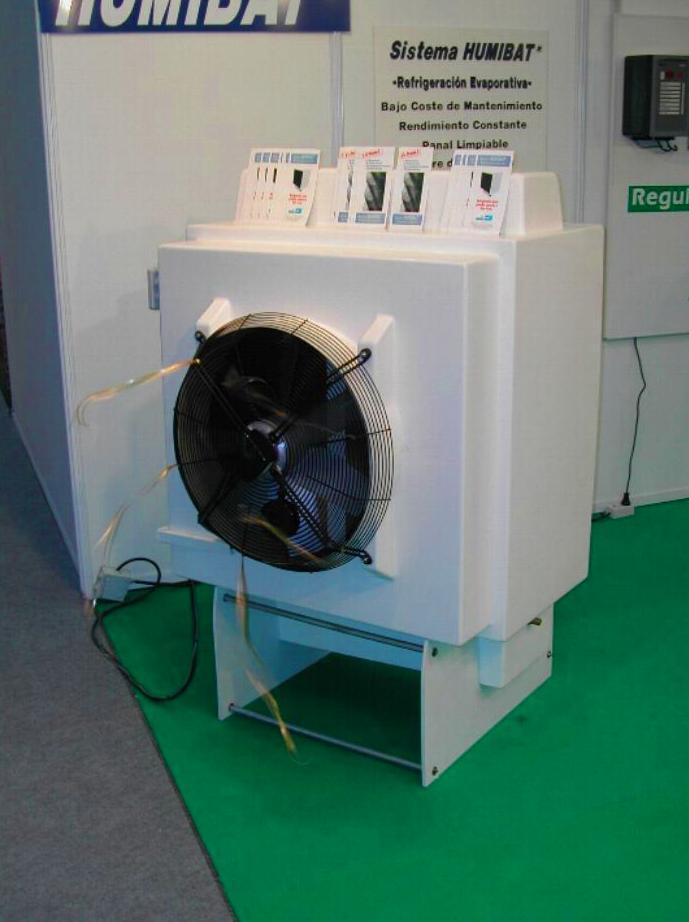 Humibat P10B. (Refrigeración evaporativa)