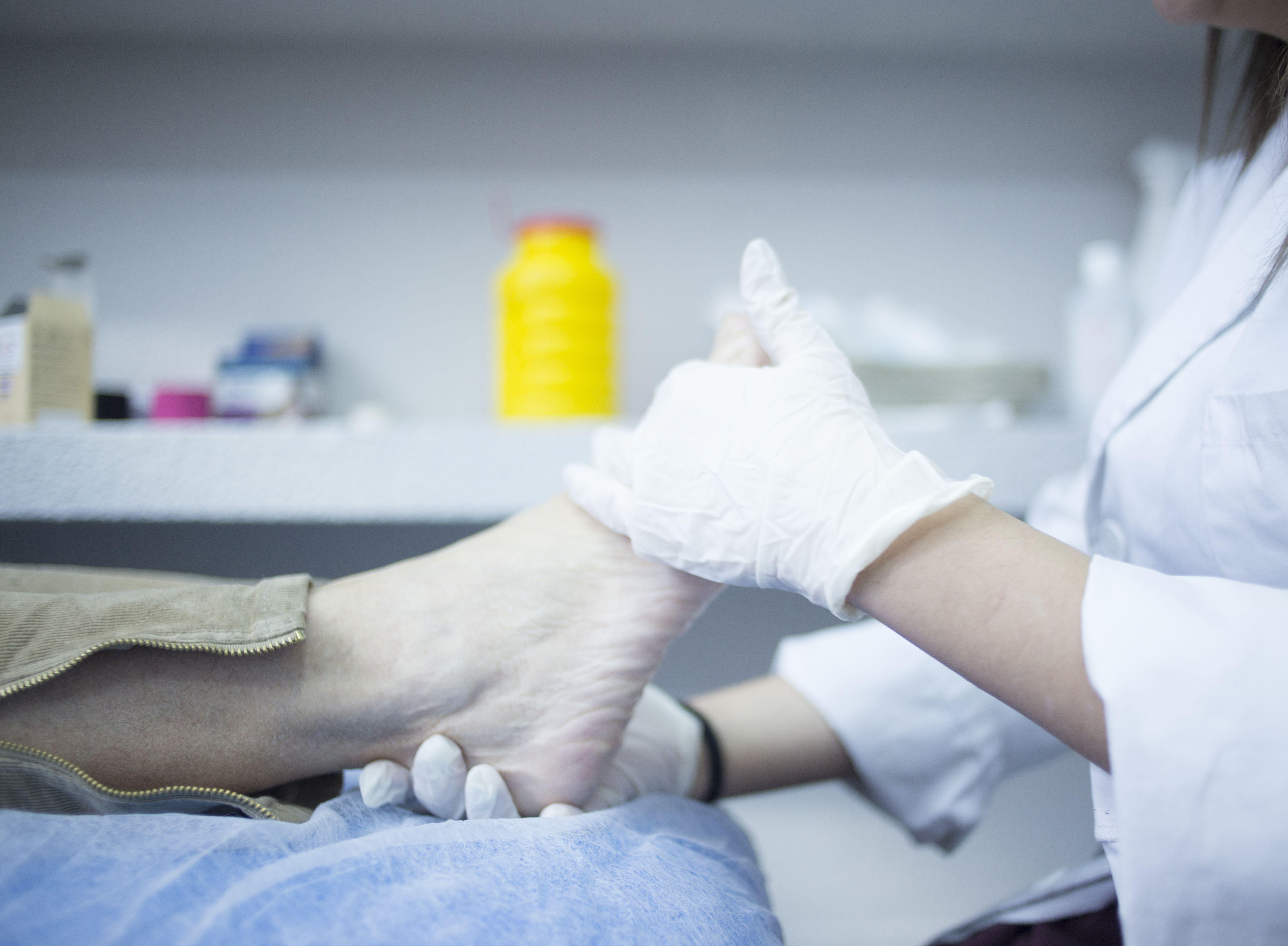 Rehabilitación de pies y tobillos
