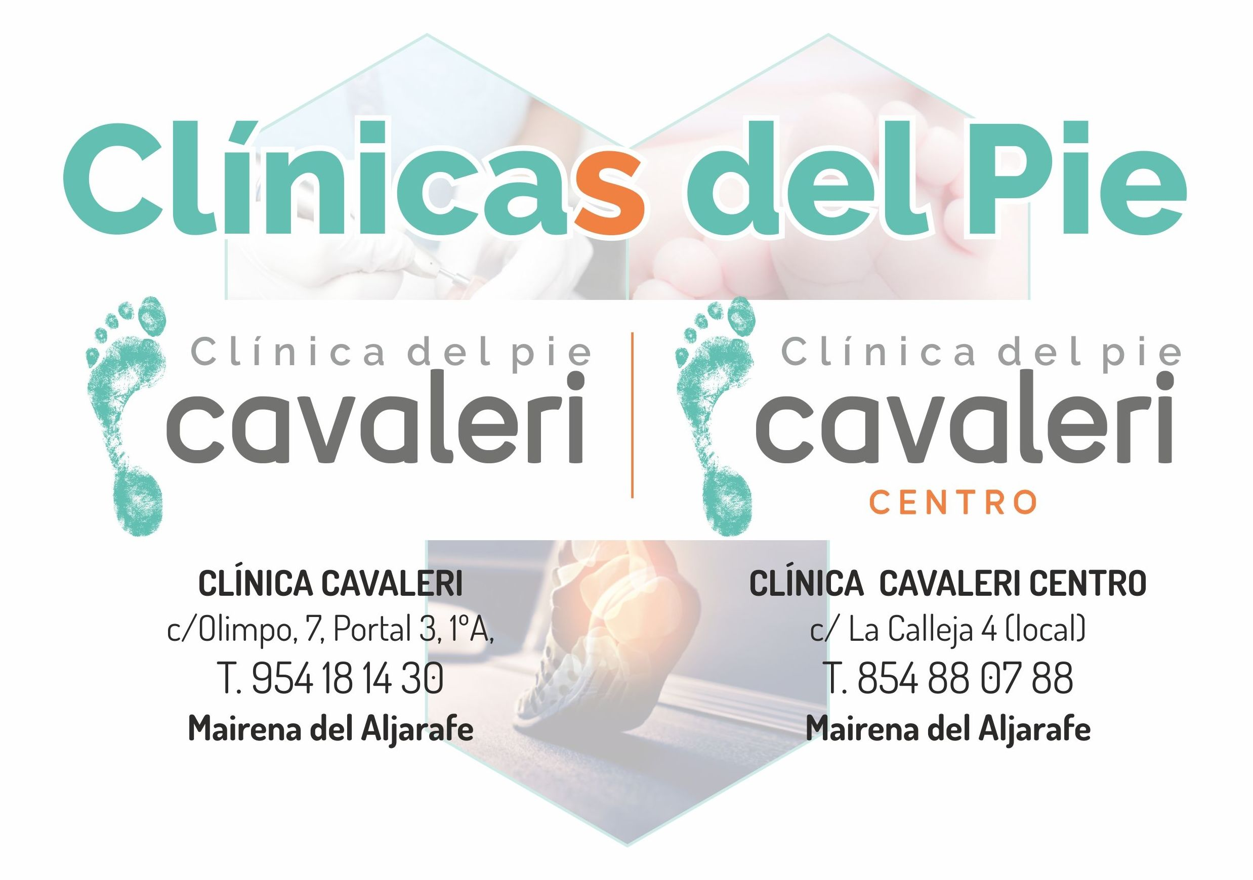 Foto 1 de Clínica del pie en Mairena del Aljarafe | Clínica del pie Cavaleri Centro