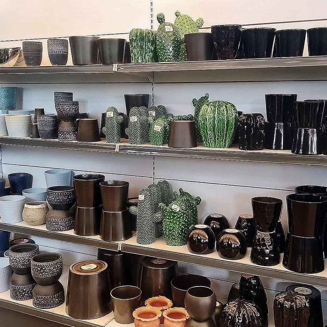 Macetas de cerámica y decorativas en Tenerife