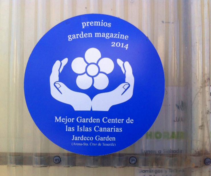 Premio Garden Magazine al Mejor Garden Center de las Islas Canarias 2014