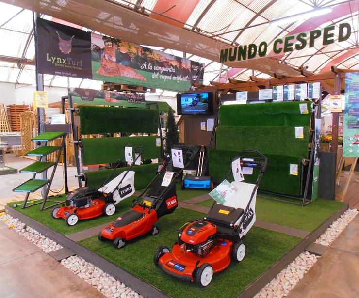 Cortacesped y máquinas para el jardín en Tenerife