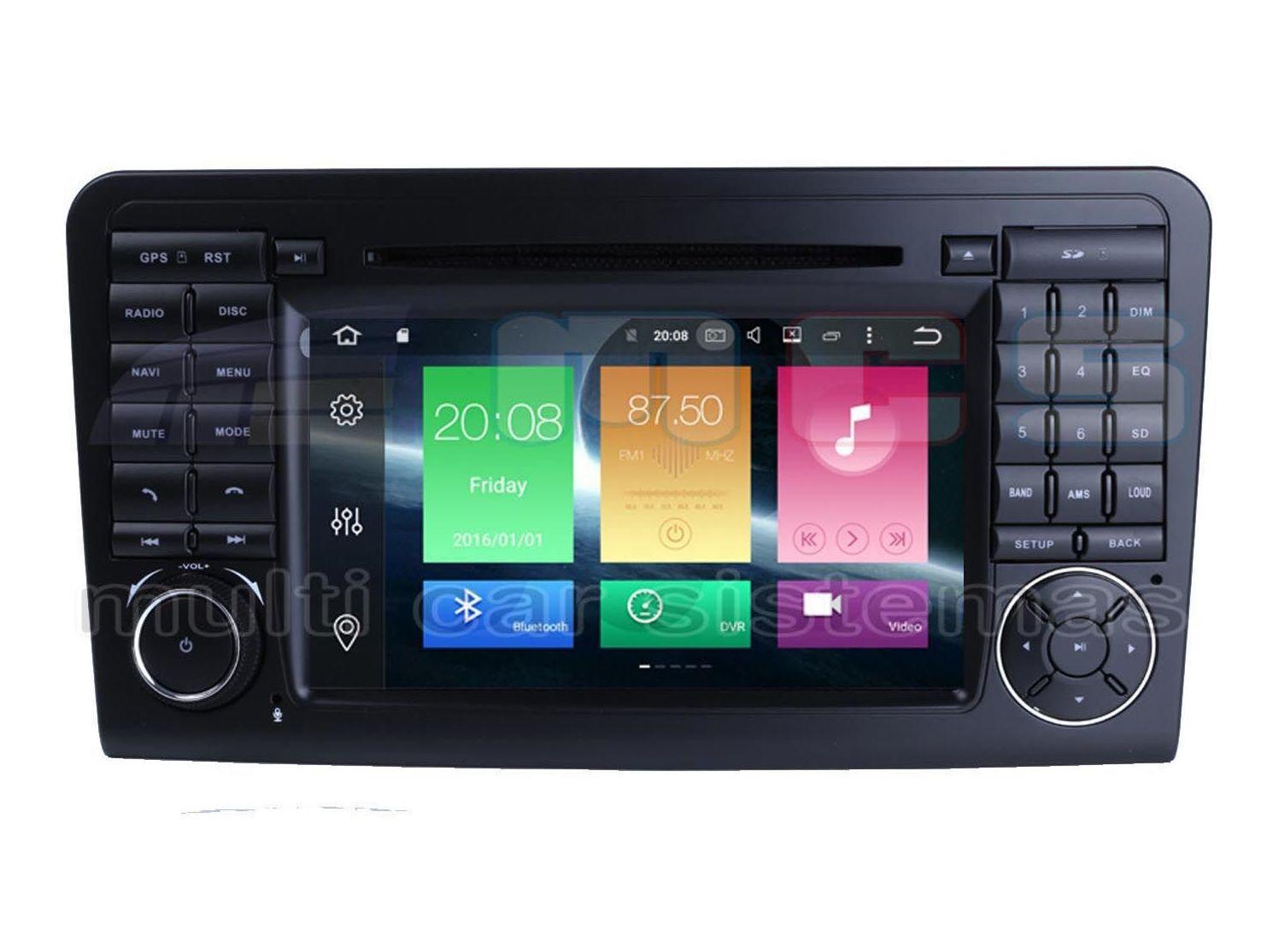 Equipos de radio navegación gps ANDROID pantalla táctil integrados