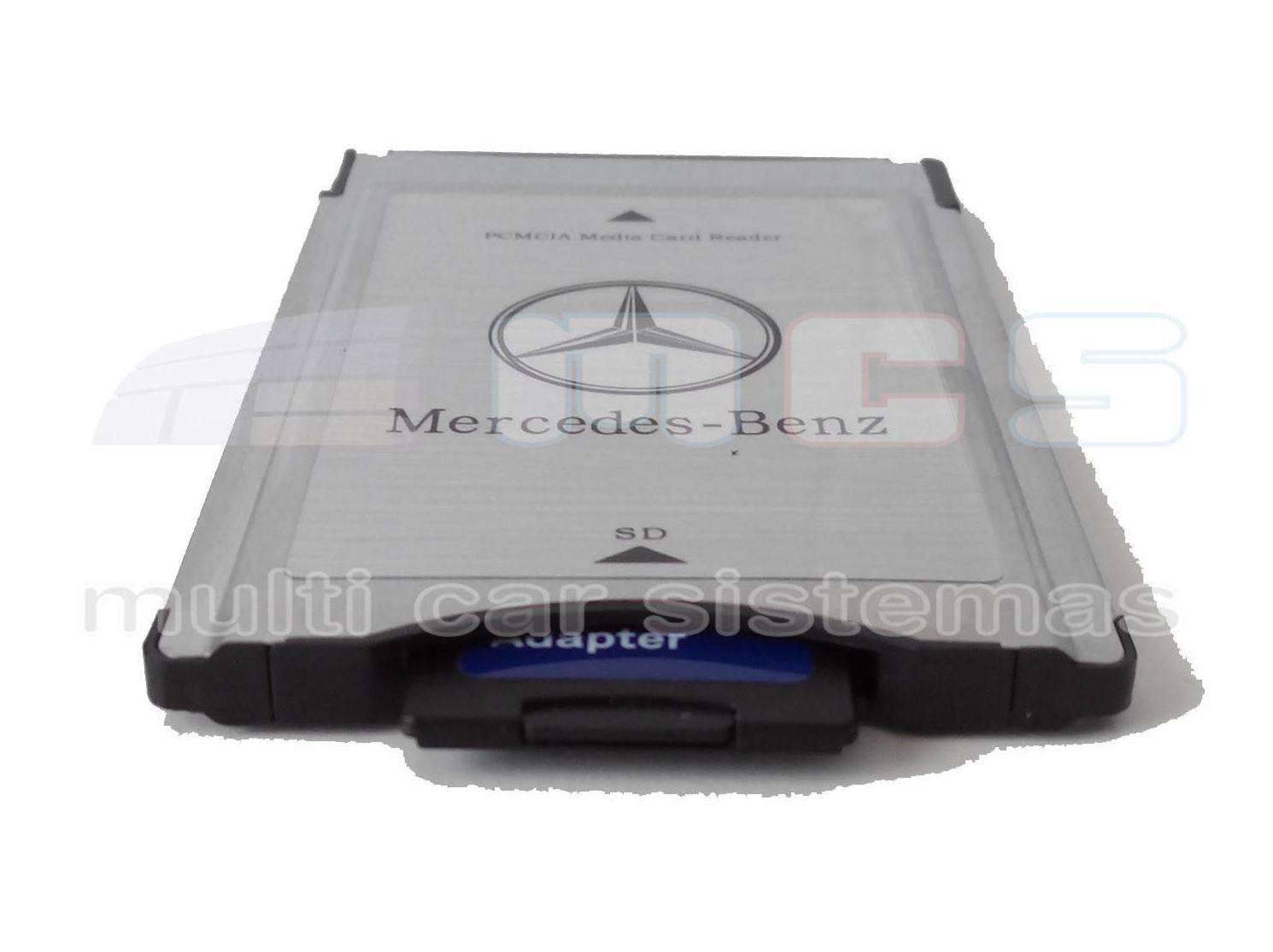 Adaptador pcmcia tarjeta sd mercedes benz for Pcmcia mercedes benz