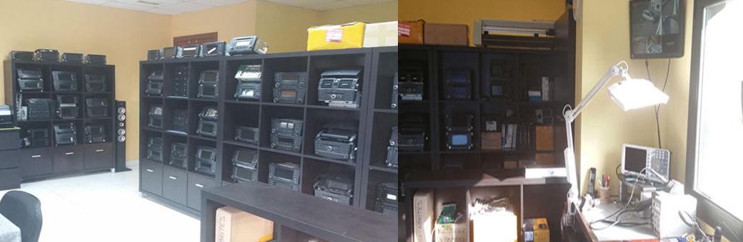 oficina reparaciones electrónica multi car sistemas