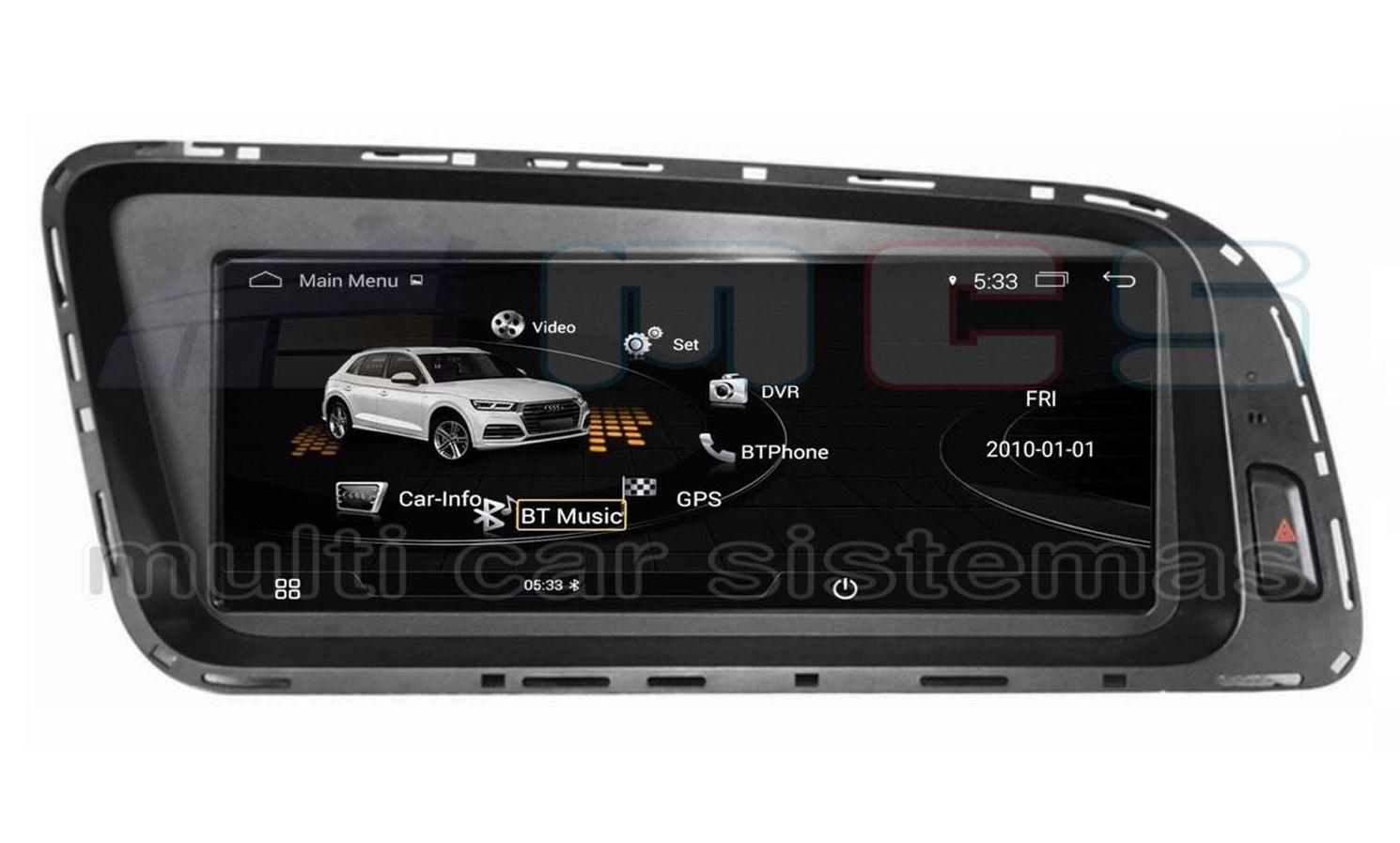 RADIO GPS PANTALLA TACTIL ANDROID AUDI Q5 8R