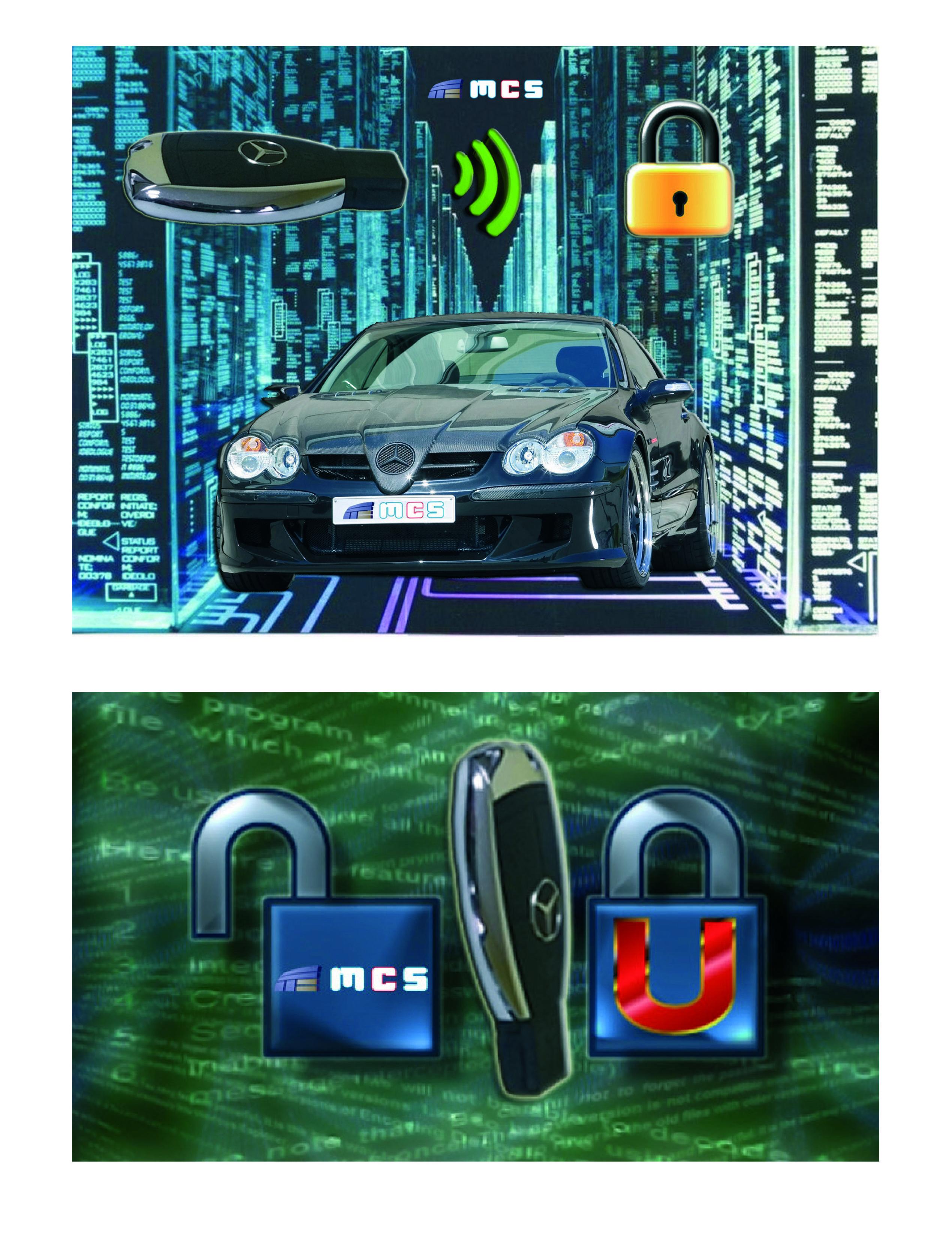Reparación y fabricación clon clonado llave mando nueva reparación centralita ECU Mercedes Benz