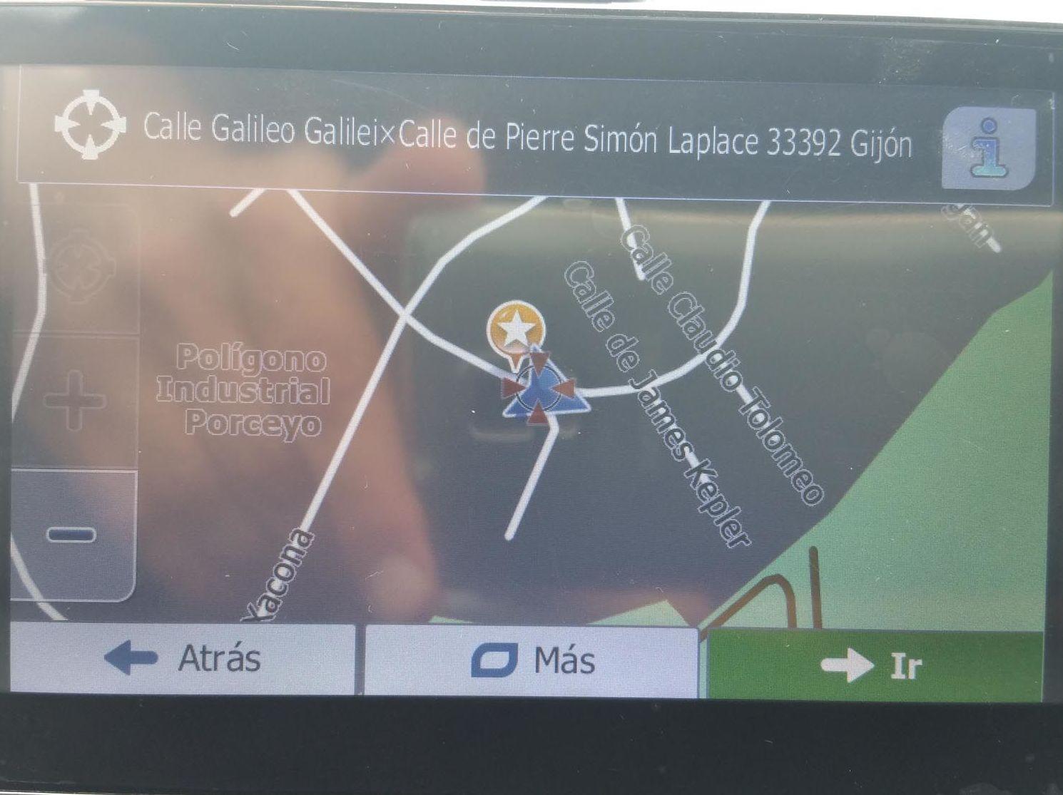 Ubicación GPS nave MULTI CAR SISTEMAS