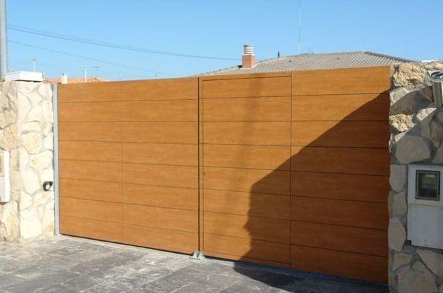 Puertas automáticas de aluminio en Lleida
