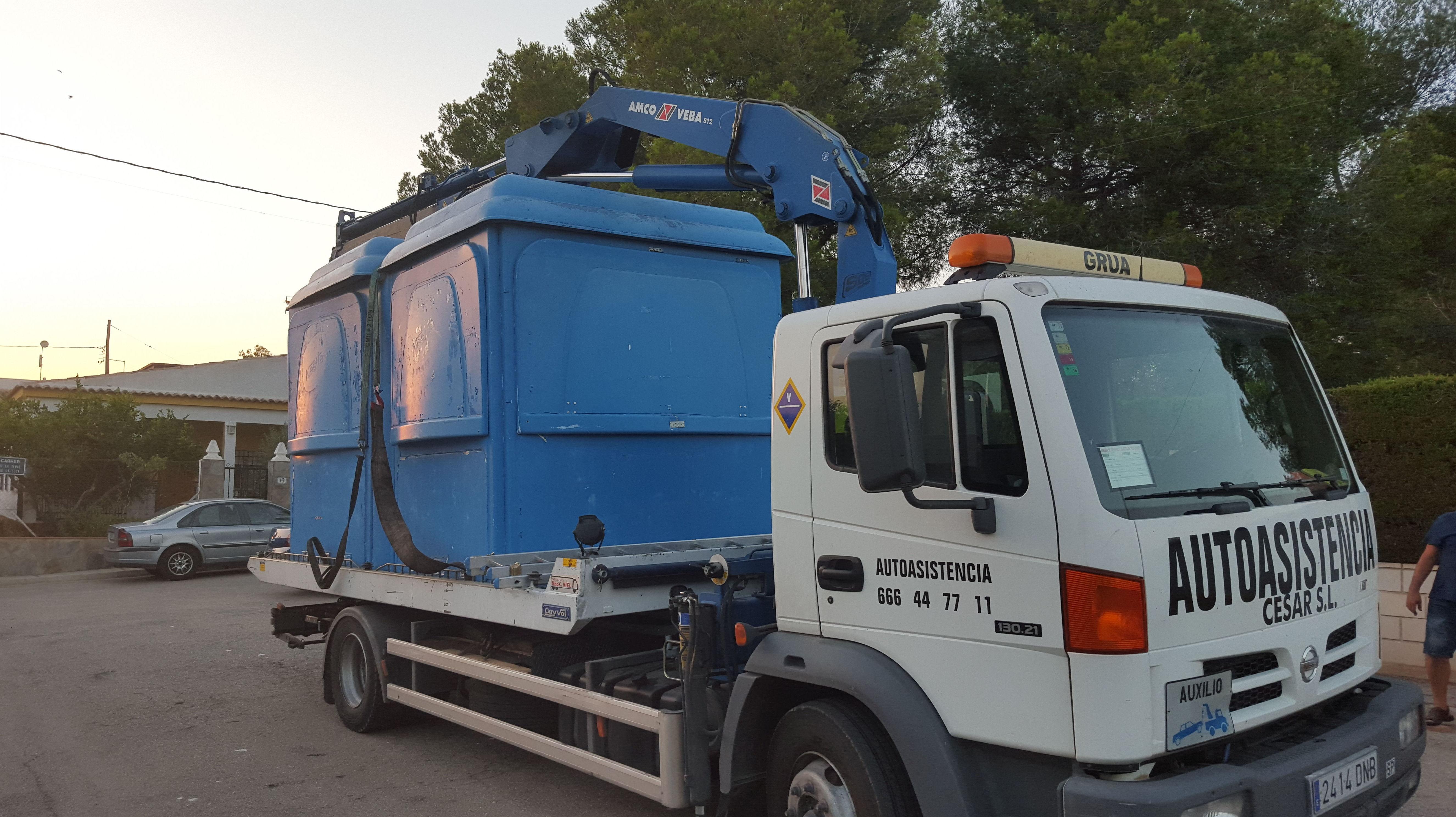Foto 6 de Asistencia integral en carretera en VALENCIA | AUTOASISTENCIA CESAR S.L.