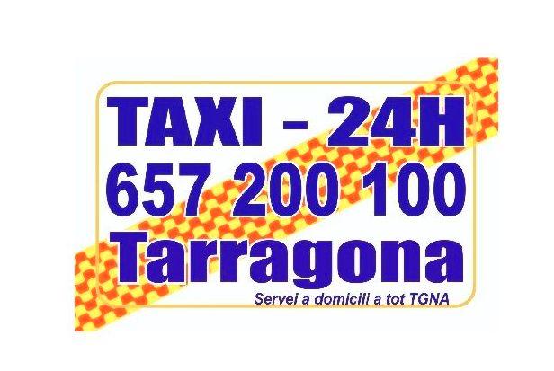 Foto 1 de Taxis en  | Taxi 24 H Tarragona