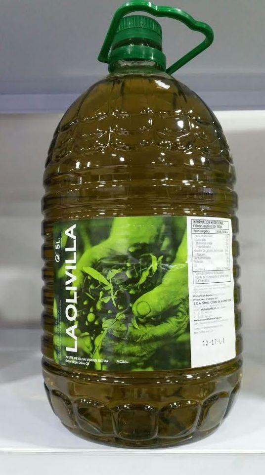 Aceites de oliva de cosecha propia