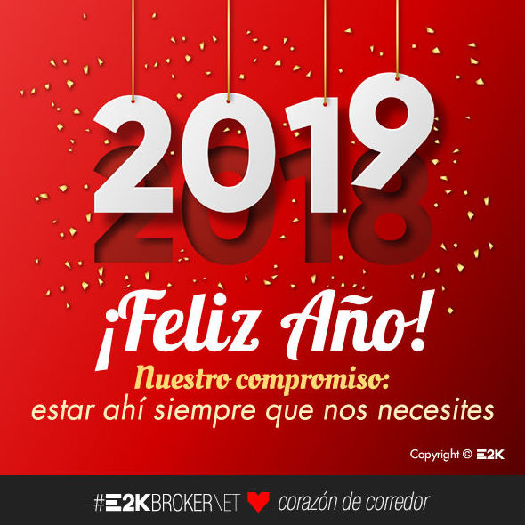 FELIZ AÑO 2019.