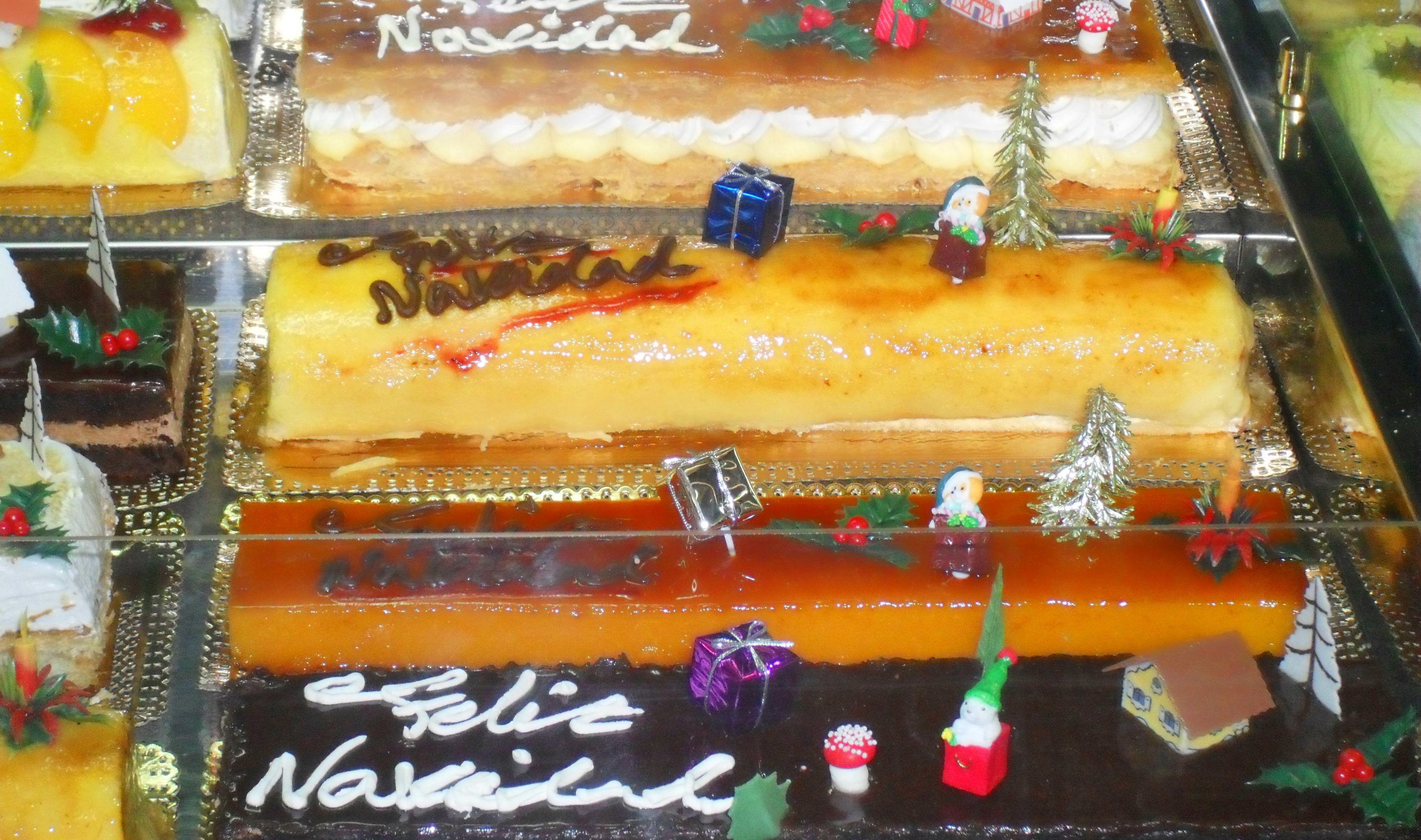 pastelería Navideña