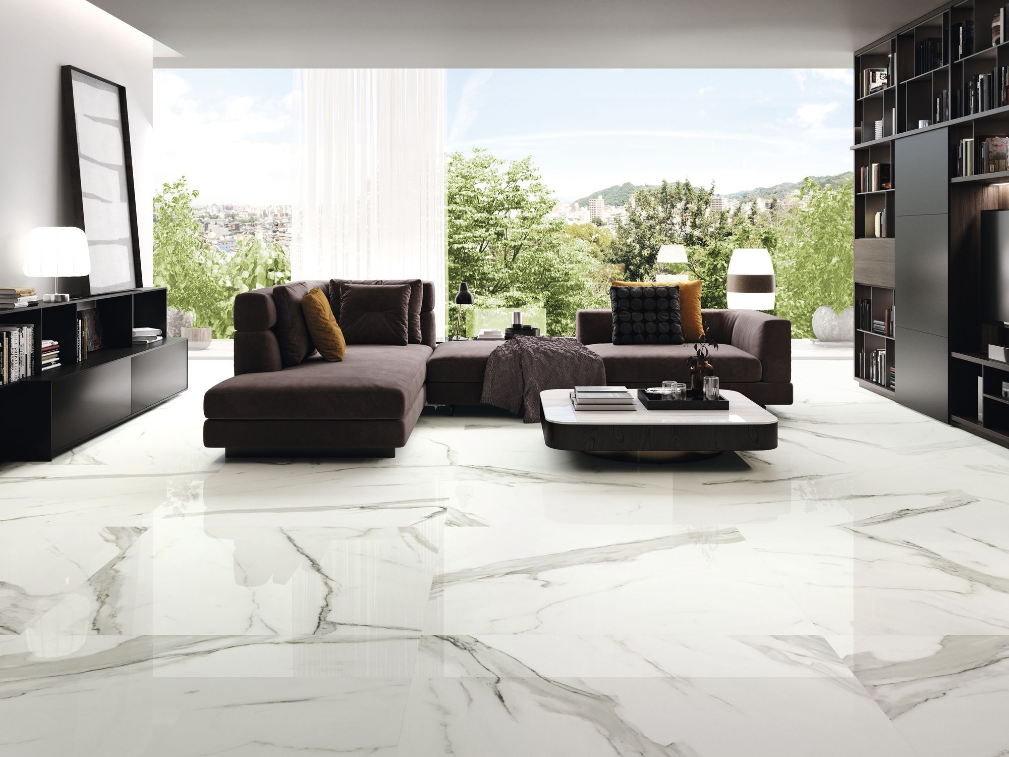 Interior and exterior floors in Calpe