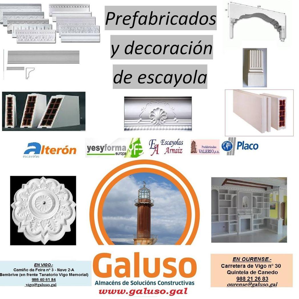 TARIFA-CATALOGO PREFABRICADOS 2017-2018: Catálogo de Galuso