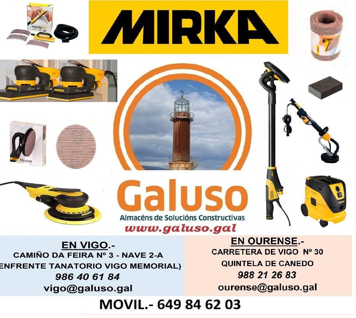MIRKA: Catálogo de Galuso