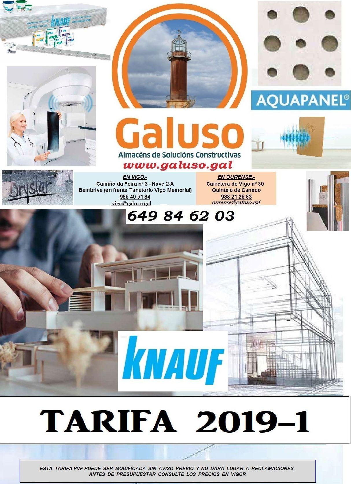 TARIFAS KNAUF 2019-1