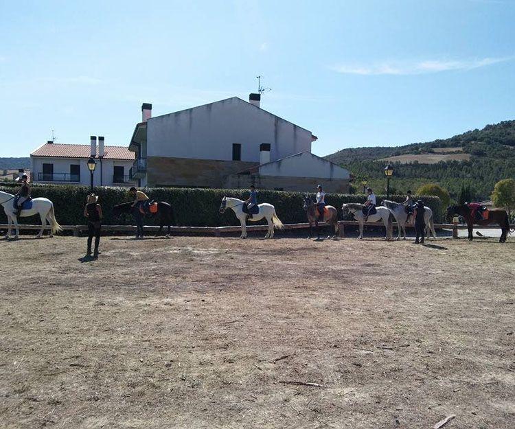 Centro de equitación en Aranguren, Navarra