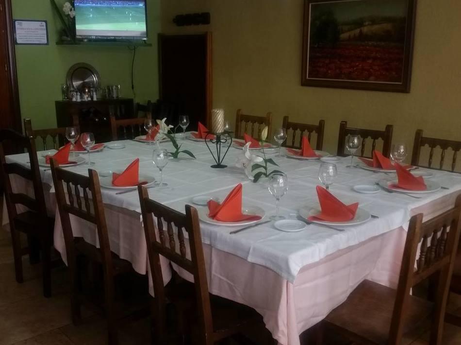 Restaurante con reservas para grupos Palencia