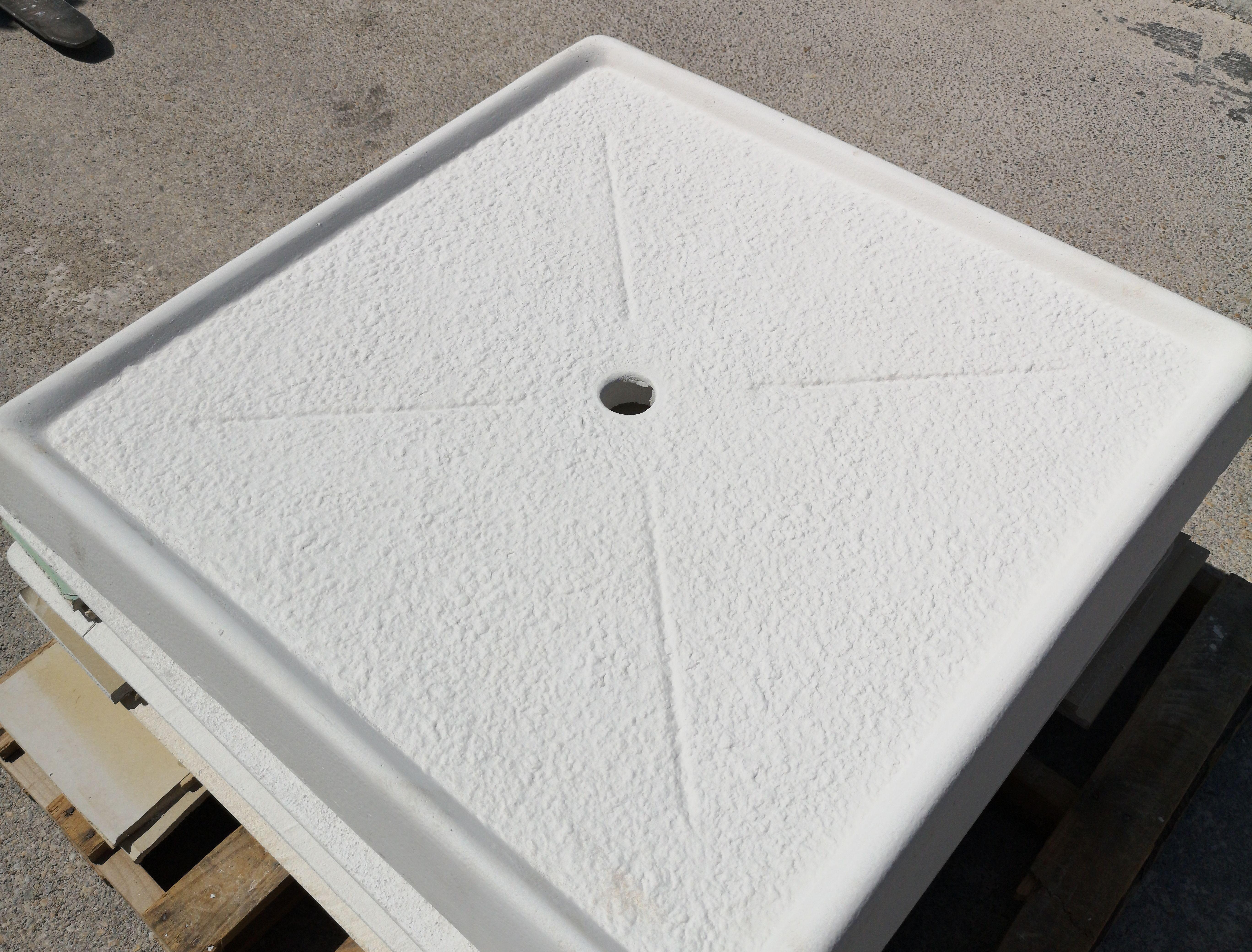 Plato de ducha diagonal