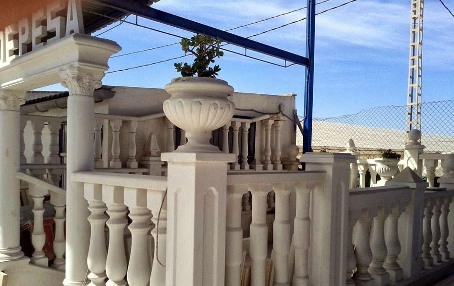 Fabricación y venta de piedra artificial en Alicante