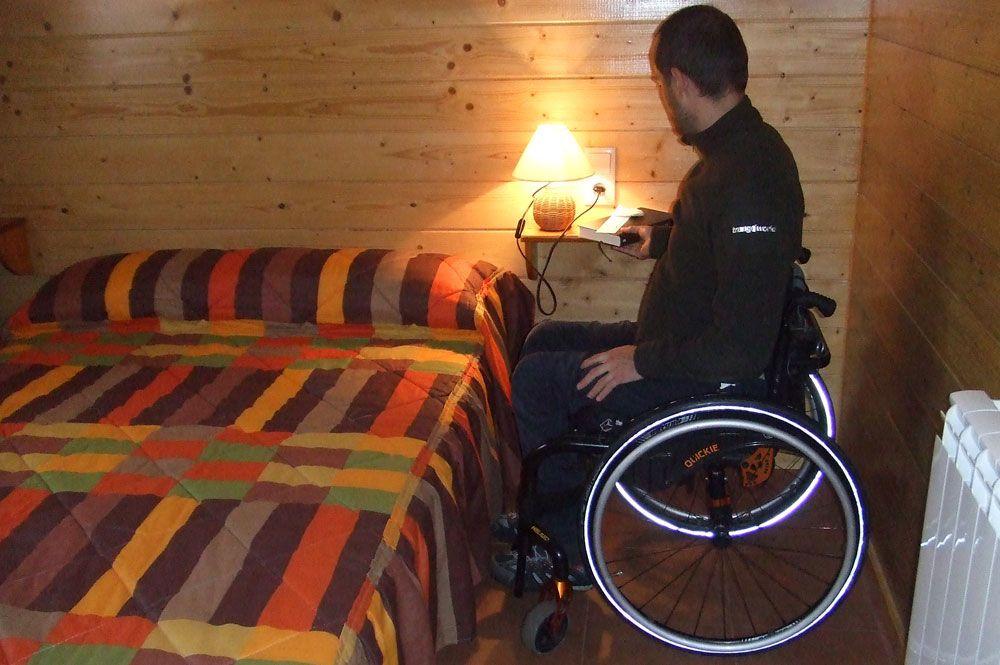 Contamos con alojamientos adaptados
