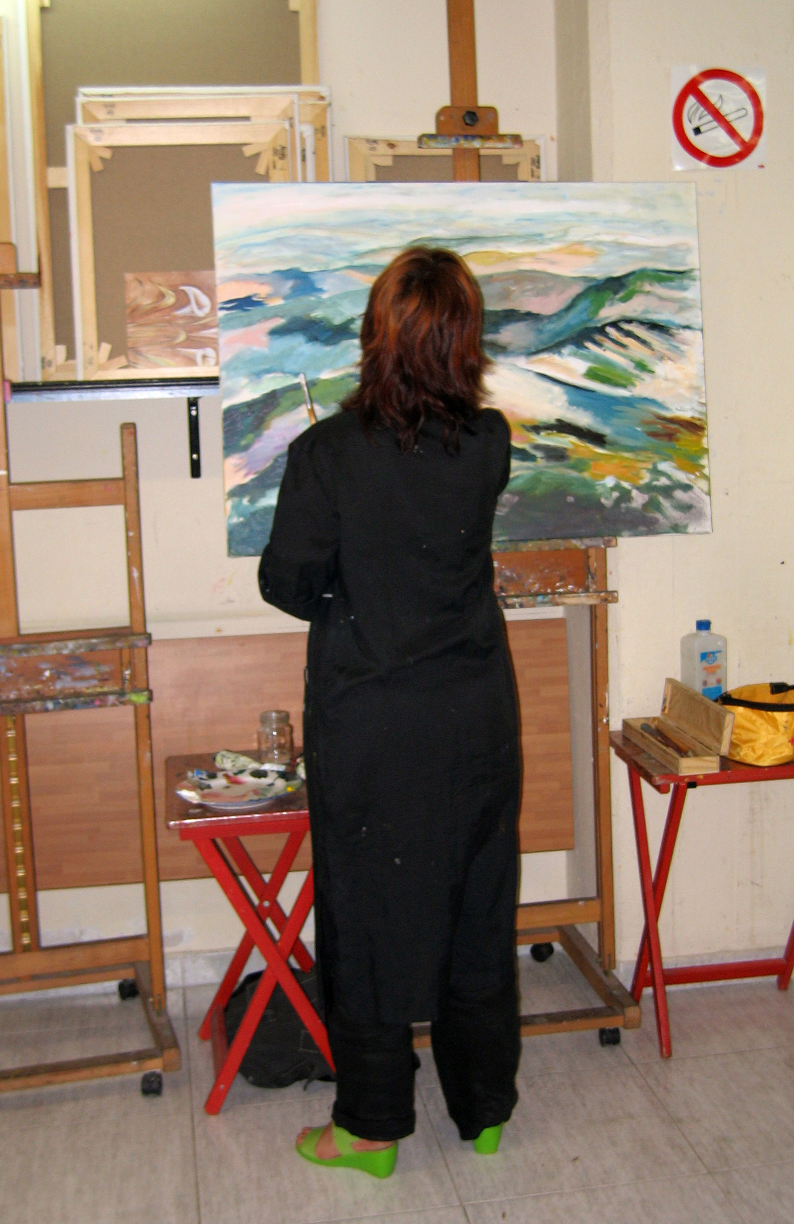Clases de pintura para adultos: Cursos de Aljafra