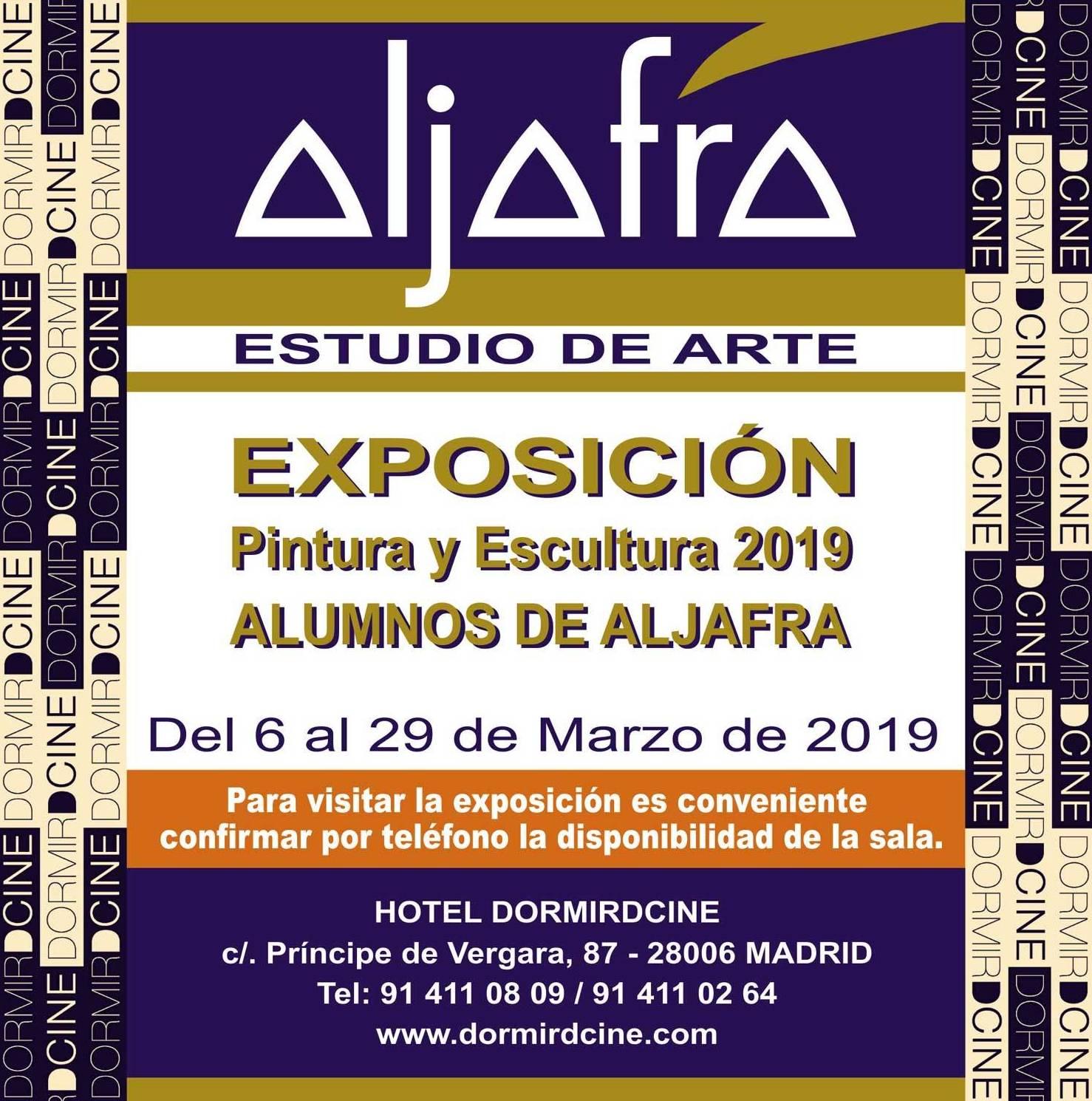 Anuncio de la exposición de Alumnos de 2019