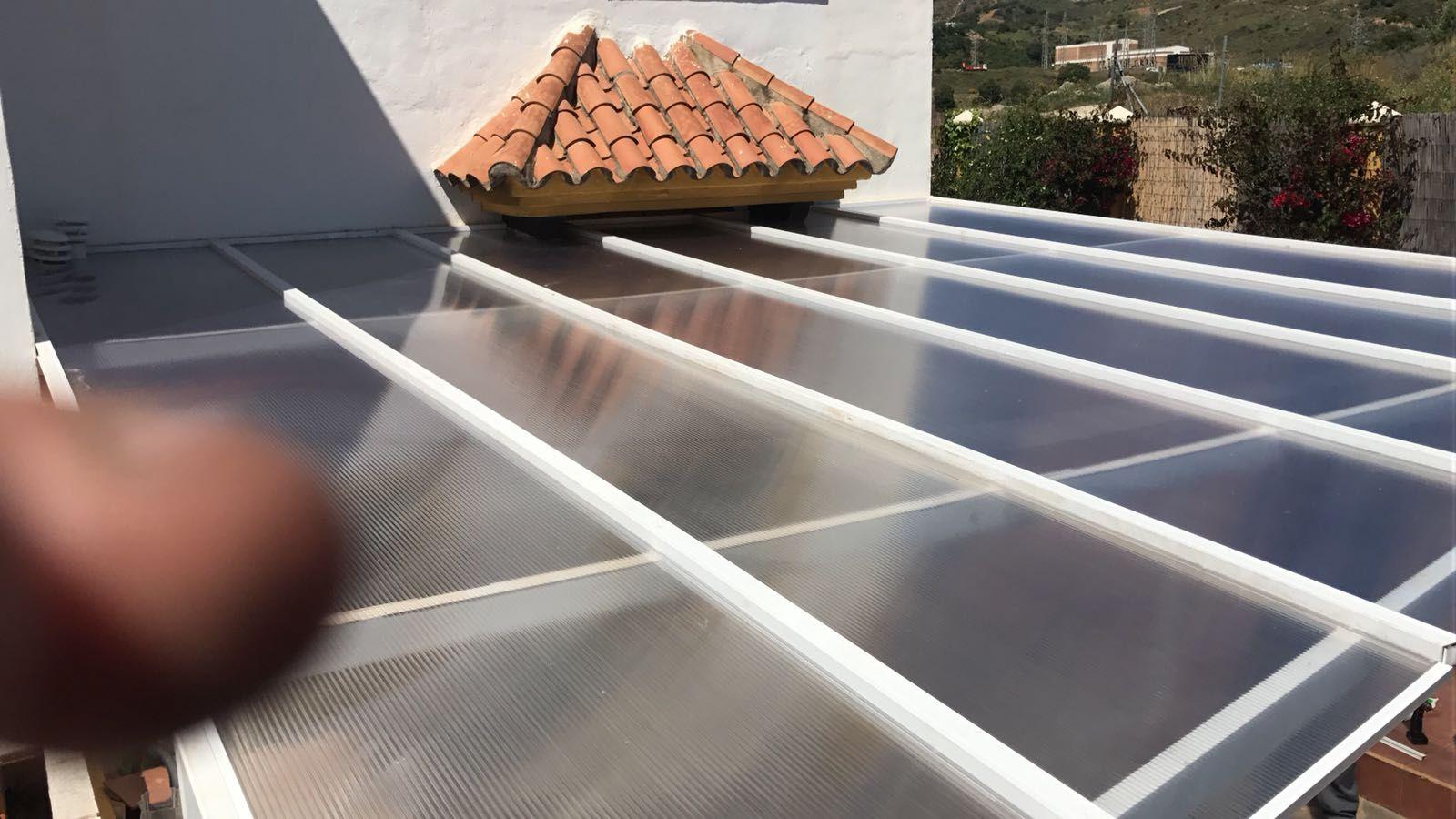 Cristaleras de techo