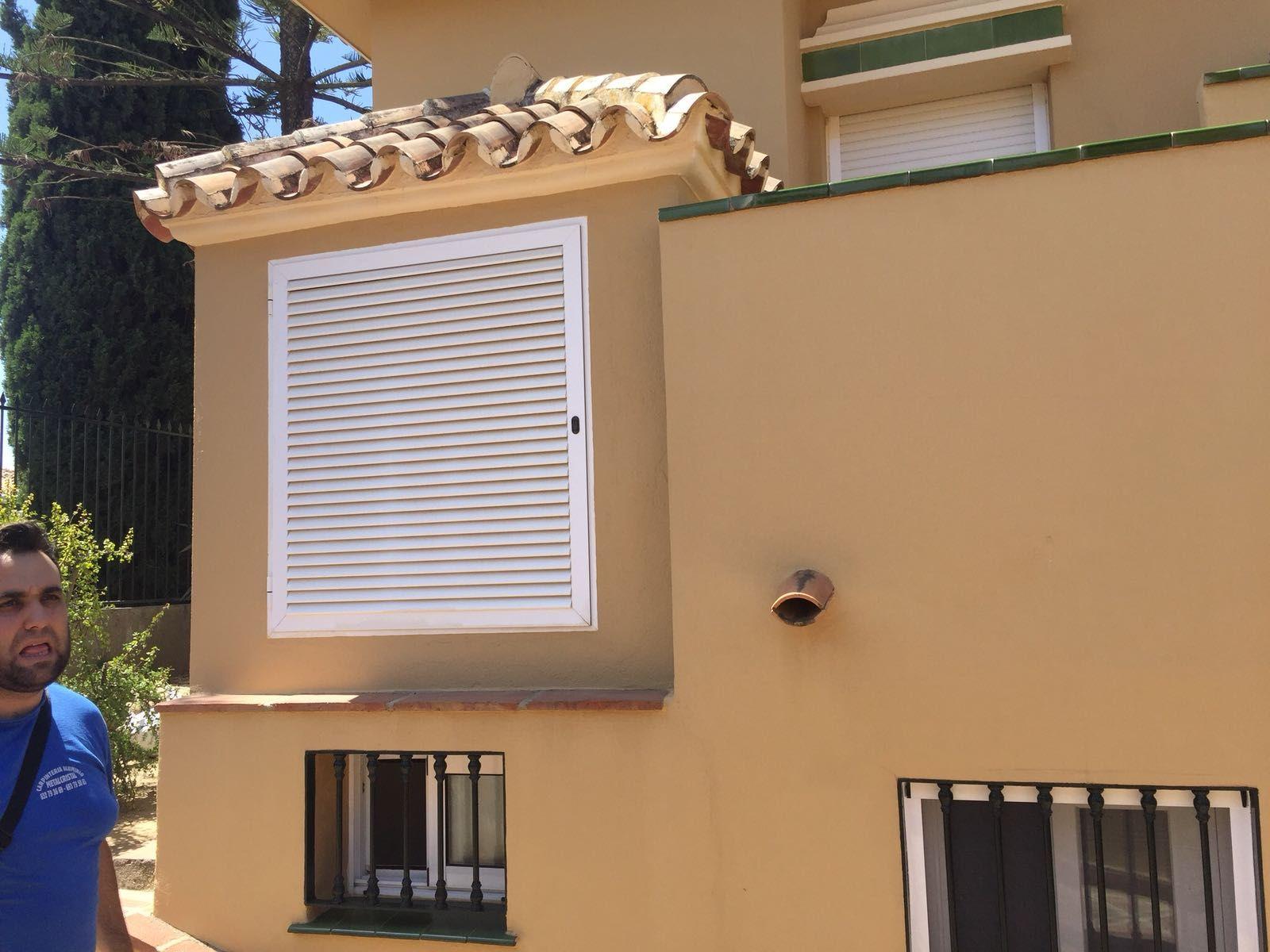 Instalacion de persianas en Málaga