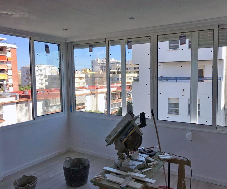 Cerramientos de aluminio a medida en Málaga