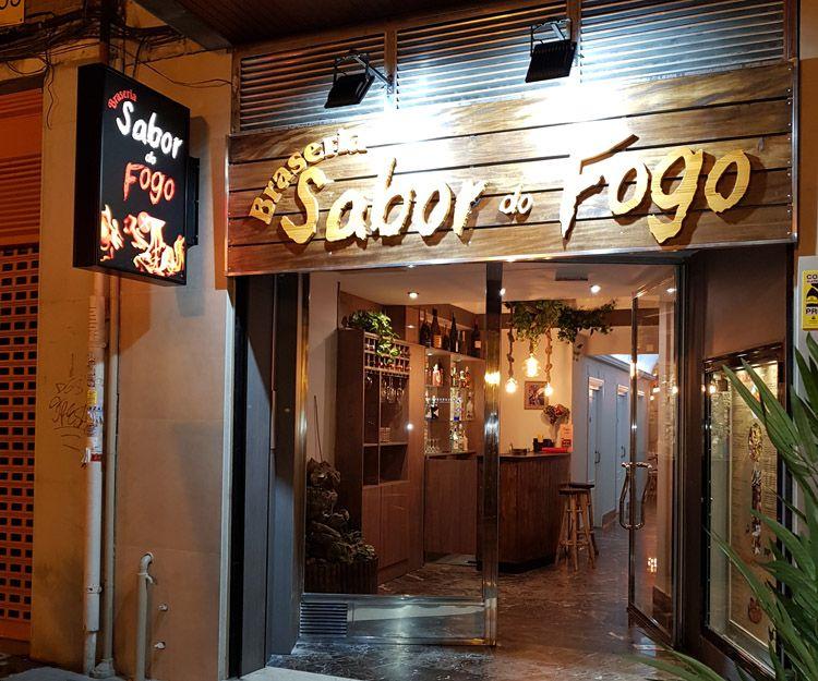 Restaurante brasileño en el centro de Valencia