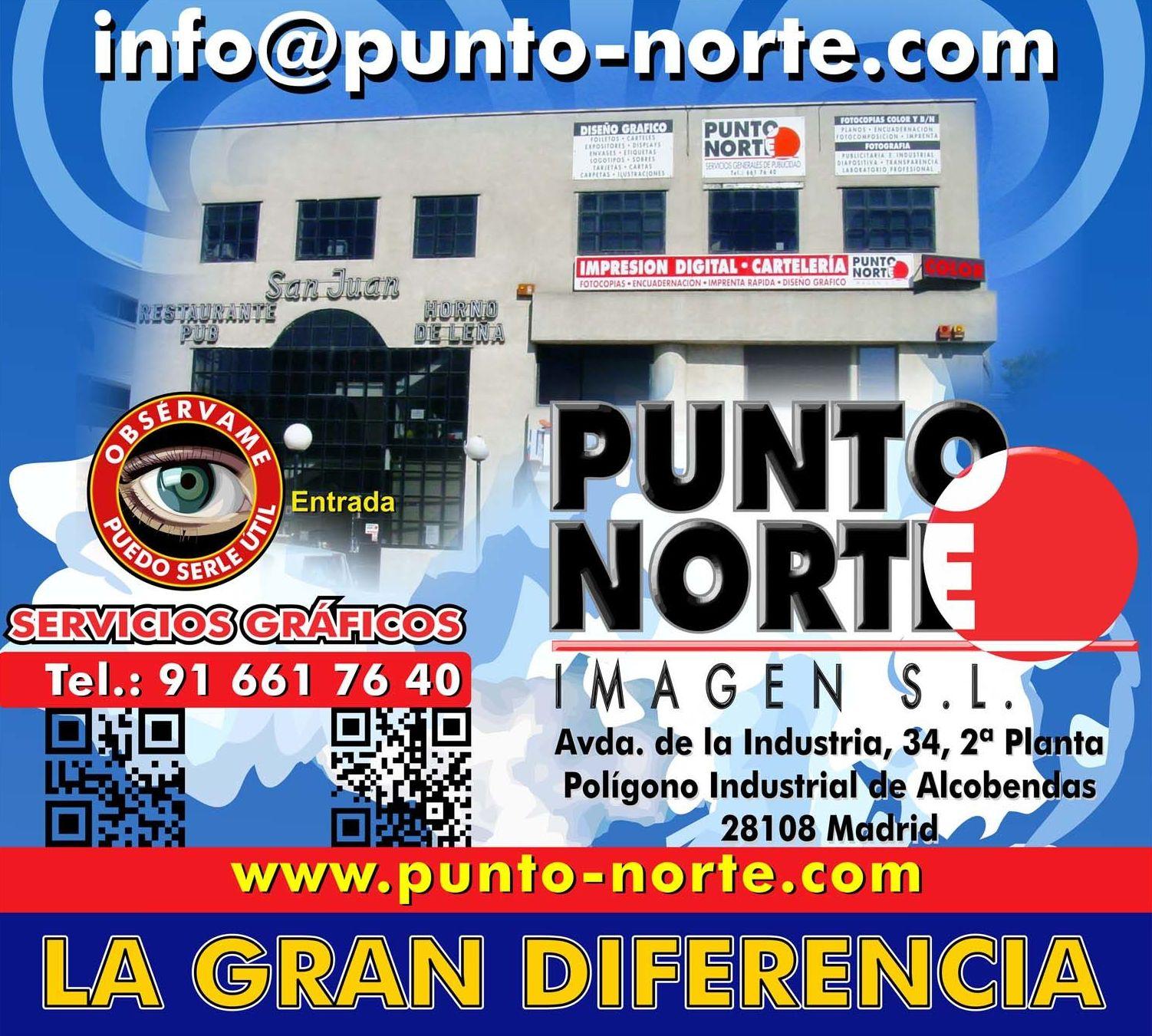 Foto 4 de Especialistas en servicios gráficos y de impresión en Alcobendas | Punto Norte Imagen, S.L.