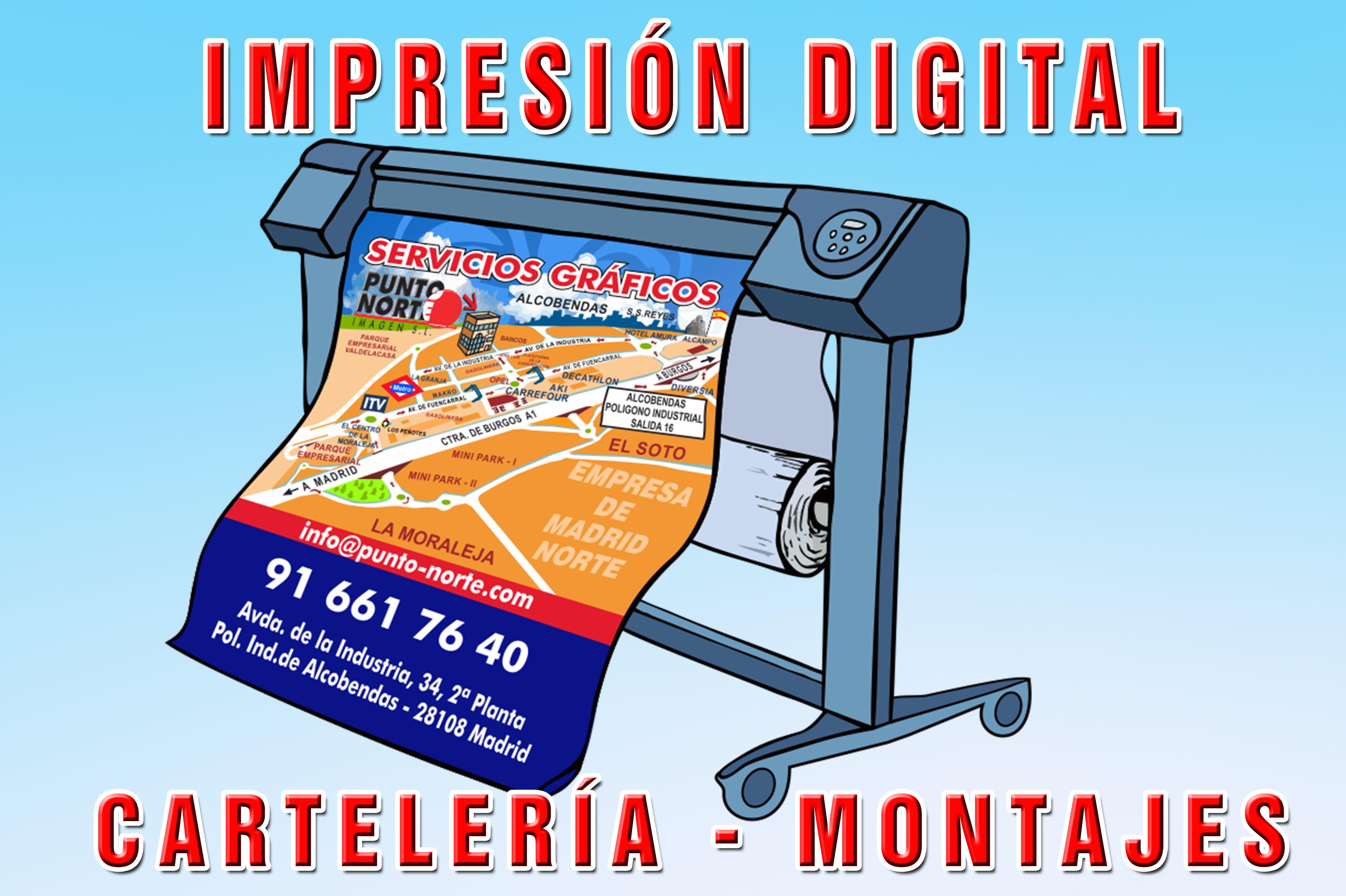 Foto 8 de Especialistas en servicios gráficos y de impresión en Alcobendas | Punto Norte Imagen, S.L.
