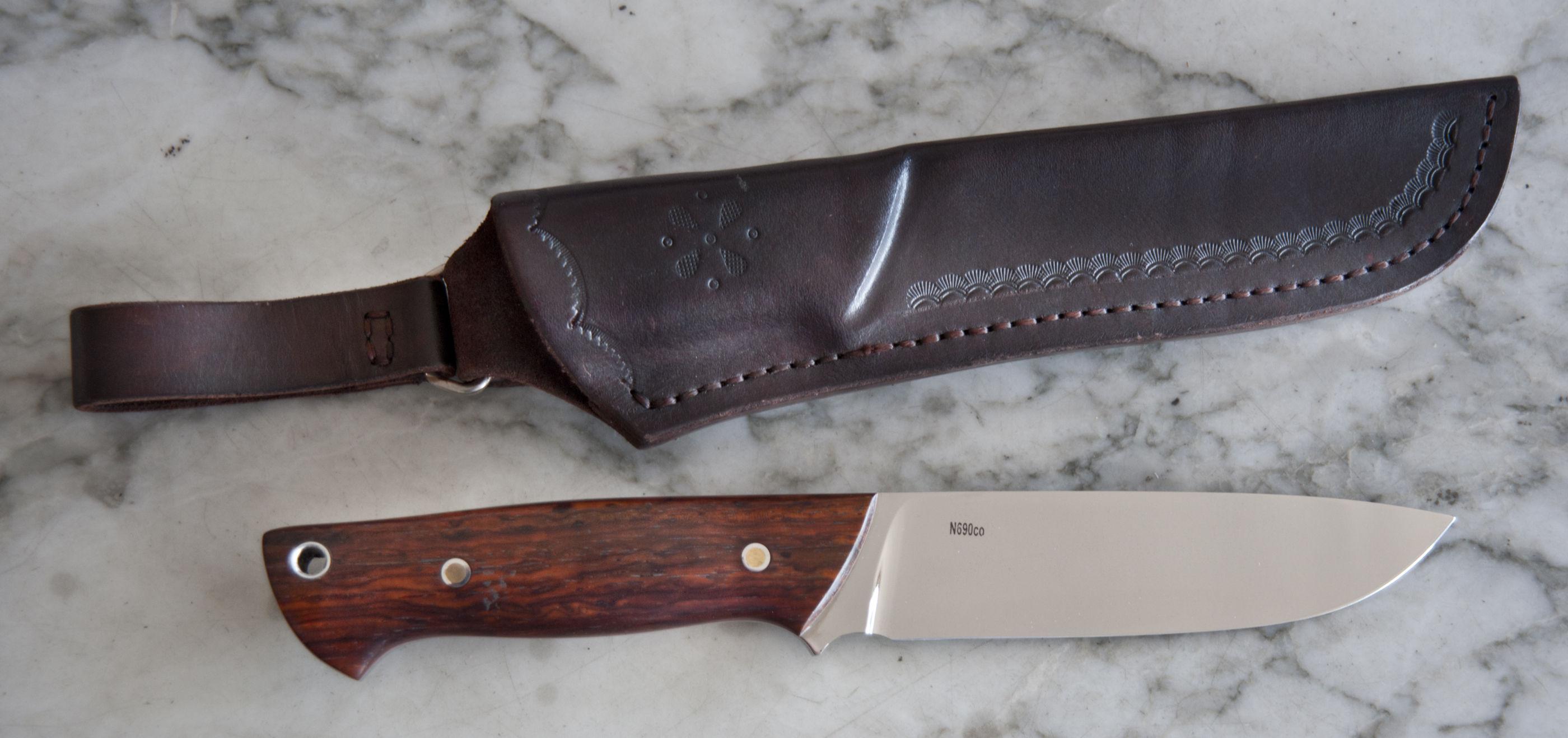 Cuchillo vasyl artesanal