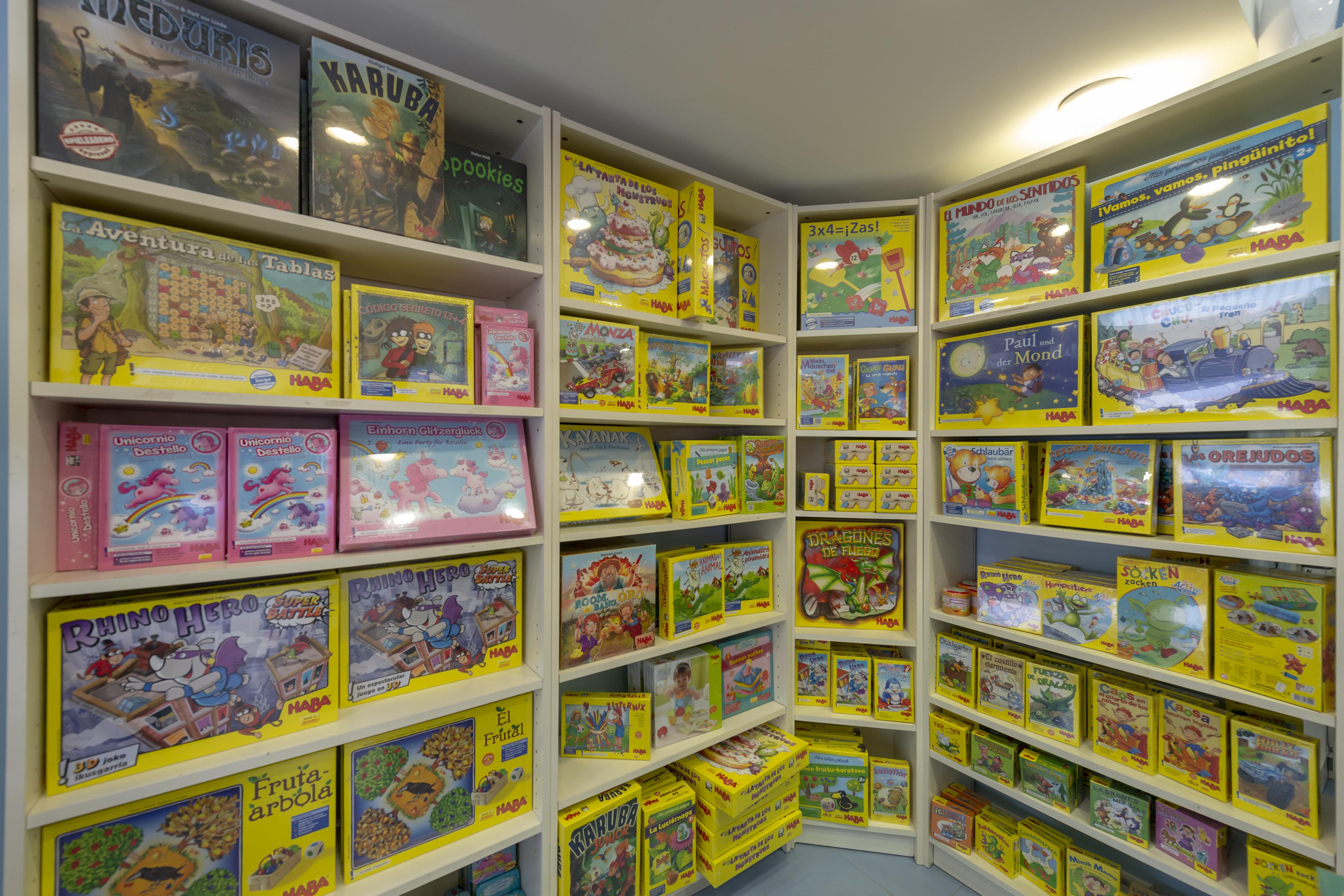 Tienda de juegos didácticos en Bilbao