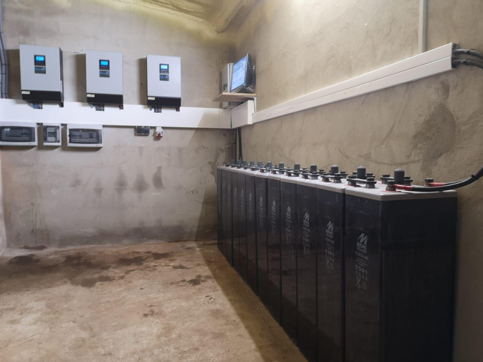 Instalación aislada
