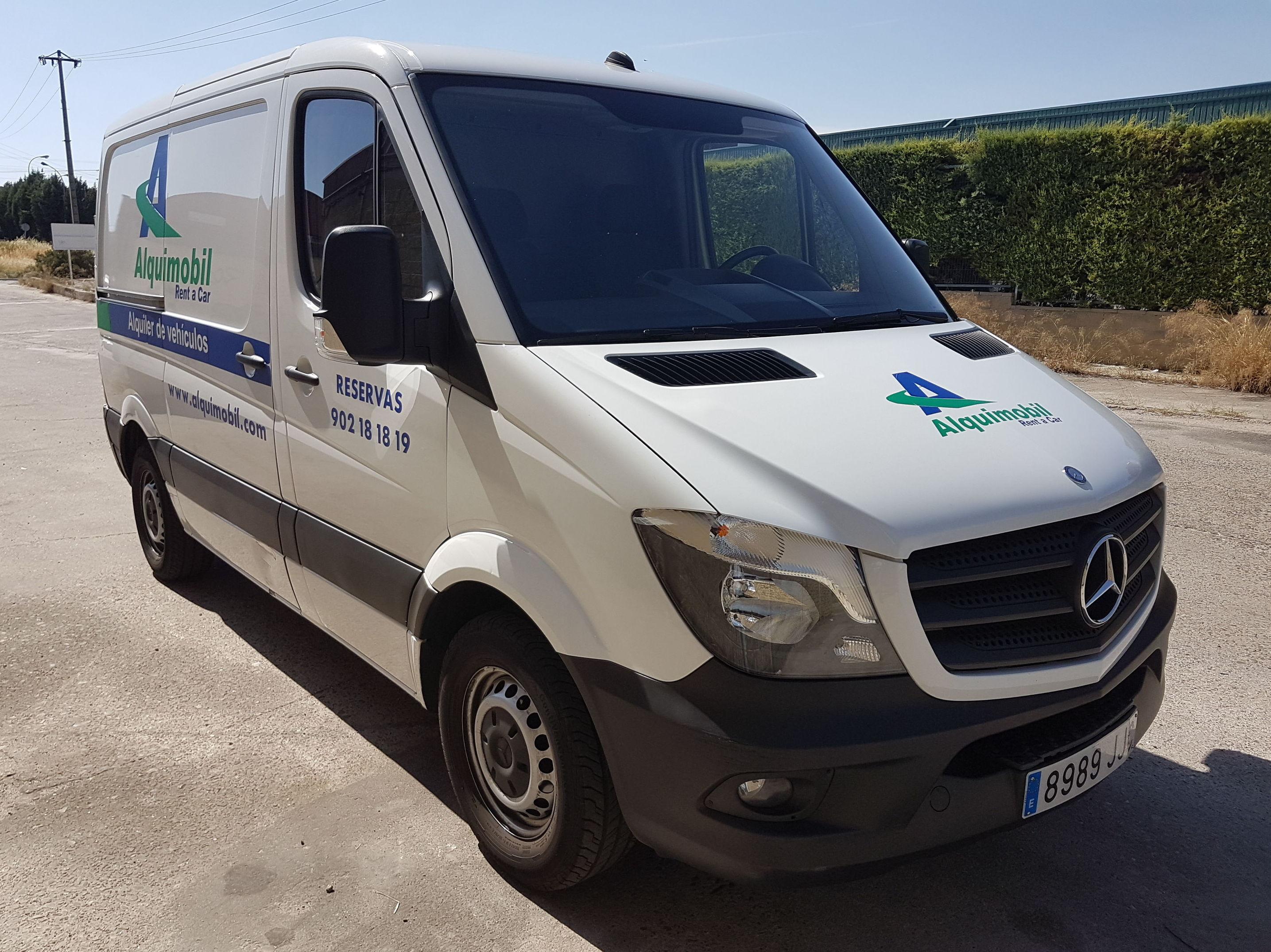 Alquiler de furgonetas en Alcobendas