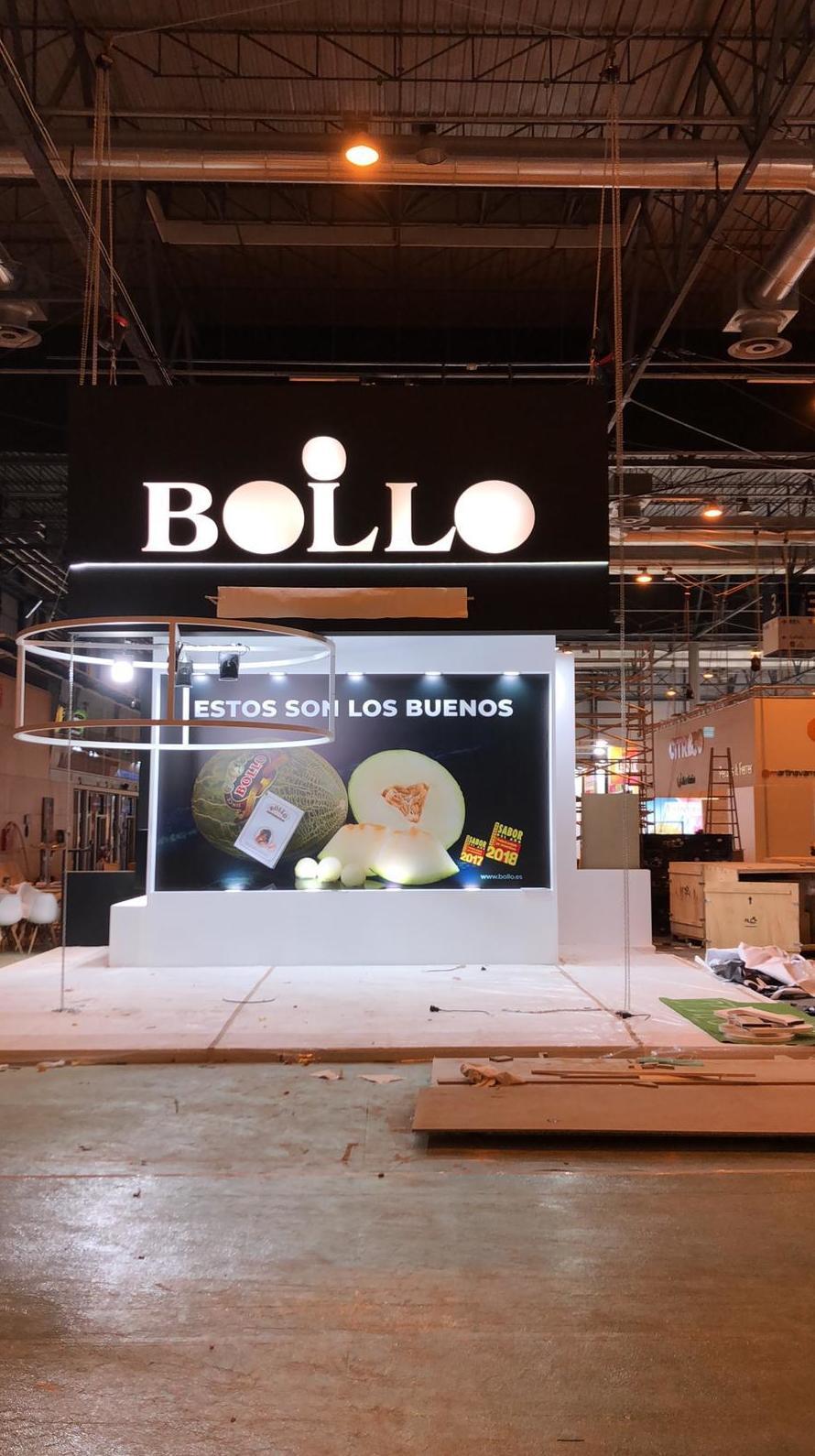 Pintura anunció melones Bollo