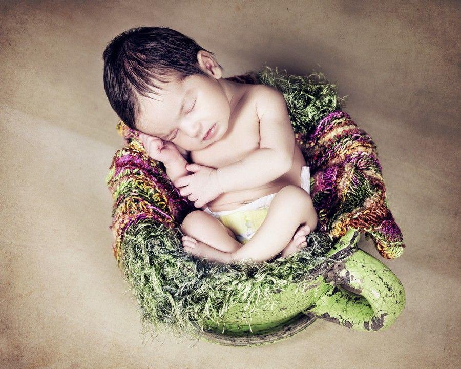 Fotos creativas de bebés en Bilbao