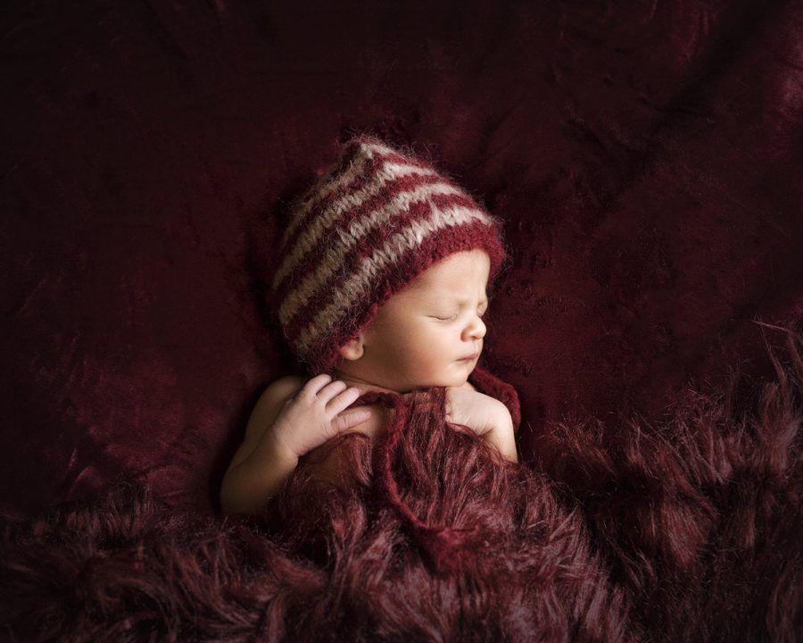 Fotografia de estudio de recién nacidos en Vizcaya